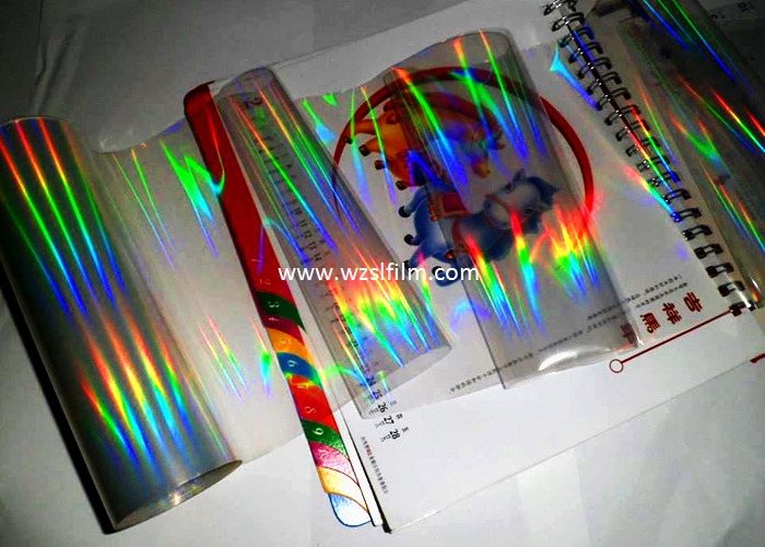 Rainbow holographic film